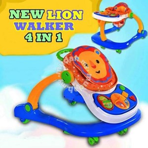 4 IN 1 BABY LION WALKER