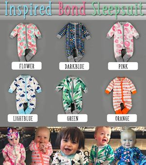 Inspired Bond Design Sleepsuit