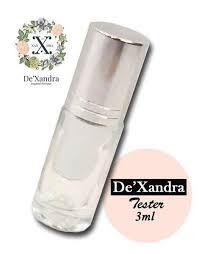 (28) ZAHRA - De'Xandra Tester 3ml