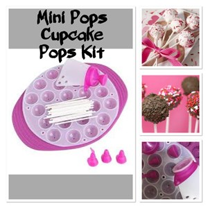 MINI POPS CUPCAKE POPS KIT