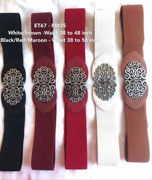 ET67  Ready stock*Waist 38 to 56 inch/ 97-142cm