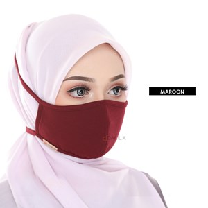 FACEMASK LIMITED EDITION (MAROON)