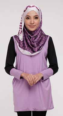 FLASH SALE WEEKEND 18-20 Oct 19 🌟 Qissara Essential Series 2 - ES209 Soft Purple