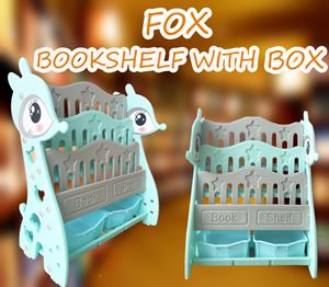 FOX BOOKSHELF WITH BOX