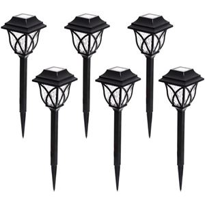 6 PACK SOLAR LIGHT