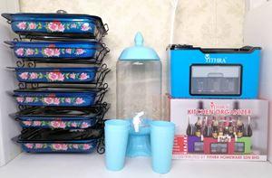 COMBO EUNICE CK 8PCS - BLUE