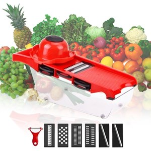 6 in 1 fruit vegetable cutter