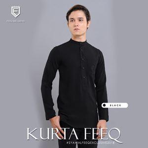 KURTA FEEQ ( BLACK )