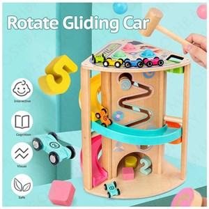 ROTATE GLIDING CAR