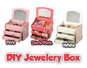 M212 DIY Jewelery Box (PINK)