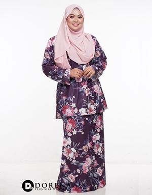 Kurung Rindu Purple