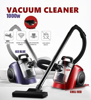 1000W Vacuum Cleaner sweeper Blue Red