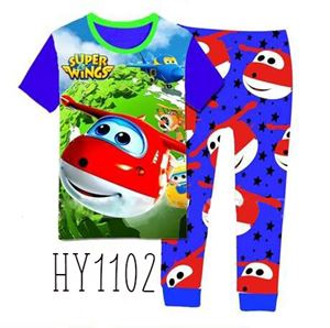 HY1102 Super Wings Pyjamas