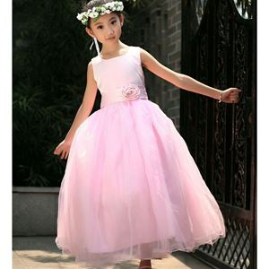 PINK TRAILING CLAIRA BALL GOWN