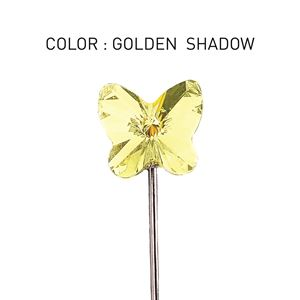 Pin 3D Butterfly Golden Shadow