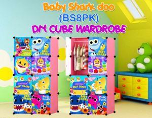 Baby Shark Doo PINK 8C DIY WARDROBE (BS8PK)
