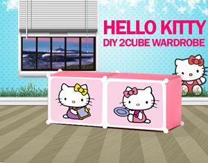 Hello Kitty 2C StorageRack (HK2SR)