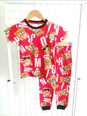 Pyjamas MOSCHINO TOY RED :  BIG Size 12 -18