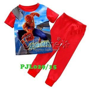 @   PJL029/15 SPIDERMAN RED  ( SZ 2-7Y )