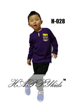 HAPPYkids Harem Set 028 ( PURPLE )