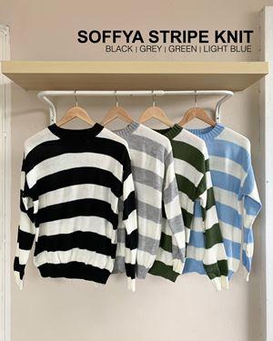 Soffya stripe knit