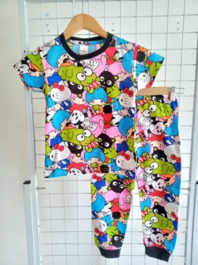 Pyjamas HELLO KITTY FRIENDS :  Big Size 12 -16