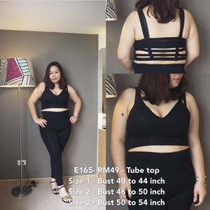 E165 *Tube Top -Ready stock