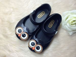 @  OWL BLACK JELLY SHOE ( SZ 24 - 29  )