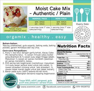 Moist Cake Mix (Plain/Authentic)