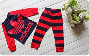 Adidas Pyjamas - Red - Small