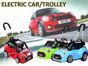 ELECTRIC CAR/TROLLEY N00774