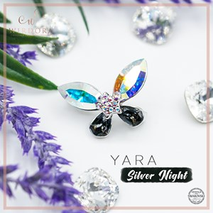 Brooch Yara Aurora Silver Night