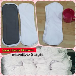 Clearance RM1.90 shj/pcs 3-LAYER MICROFIBER INSERT