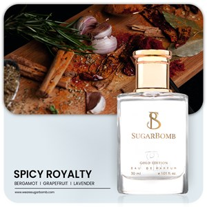 SUGARBOMB SPICY ROYALTY 30ml (SINGLE - 1 Unit)
