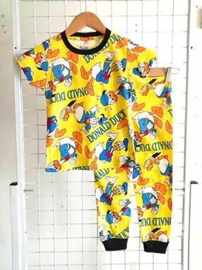 Pyjamas DONALD DUCK MIX YELLOW : KIDS size 2 - 10