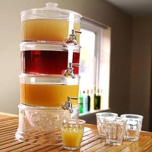 3 Tier Drink Dispenser  (bekas Air )
