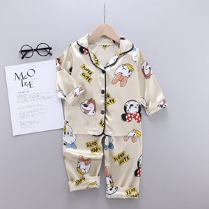 Disney Cartoon Long Sleeves Pyjamas