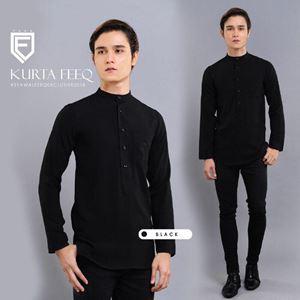 KURTA FEEQ ( BLACK)