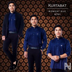 Kurtabat by HANA (Midnight Blue)