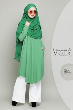 HERMOZZA BLOUSE (MALDIMO GREEN)