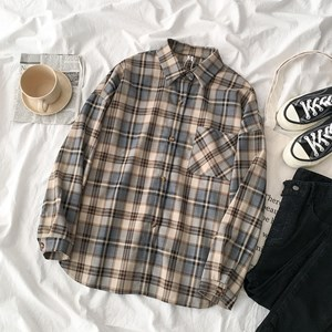 PASTEL COLOR FLANNEL BF SHIRT