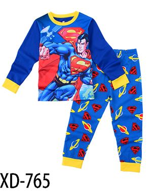 XD-765 SUPERMAN KIDS PYJAMAS