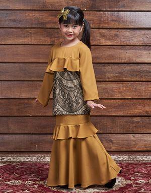 ZALYA MUSTARD GOLD (KIDS)