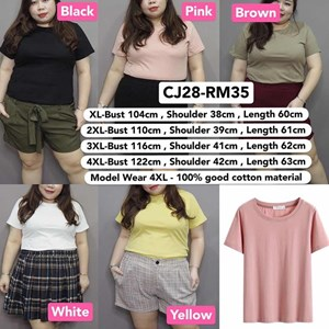 CJ28 Ready Stock  * Bust 102-122cm