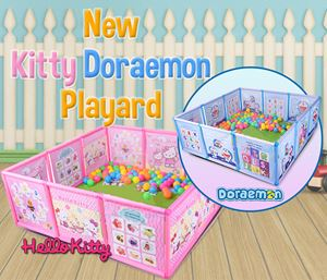 New Kitty Doraemon Playard (w/o Playballs)