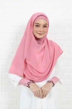 LYLA SHAWL - ROSE PINK'