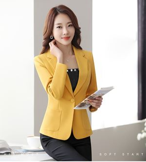 Casual Long-Sleeve Slim Coat