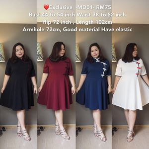MD01 *Bust 44 to 54 inch/ 111-137cm