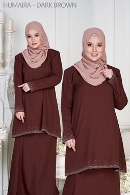 HUMAIRA - DARK BROWN