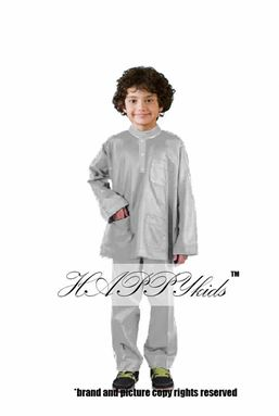 @  HAPPYKIDS SCALLOP  ( BOY -  GREY  ) 6M - 12Y
